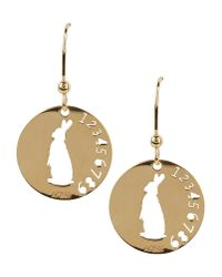 Aonie - Metallic Earrings - Lyst