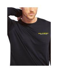 Ralph Lauren - Blue Performance Jersey T-shirt for Men - Lyst