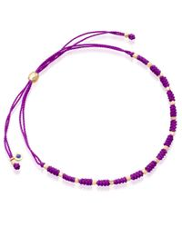 Biography - Purple Dream Skinny Bracelet - Lyst