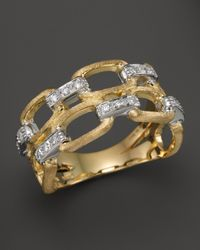 Marco Bicego | Metallic Murano 18k Yellow Gold Ring With Diamonds | Lyst