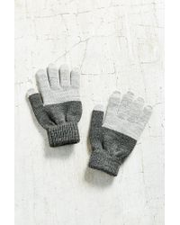 Urban Outfitters - Gray Texting Glove - Lyst
