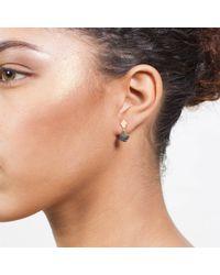 Dutch Basics - Metallic Earrings Porcelain One - Lyst