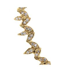 Joanna Laura Constantine - Metallic Gold-plated Ear Cuff With Swarovski Crystals - Lyst