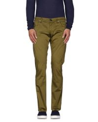 Dondup - Green Casual Trouser for Men - Lyst