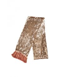 Temperley London | Metallic Tamir Dinner Scarf | Lyst