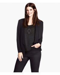 H&M | Black Jacket | Lyst