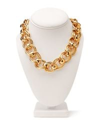 Forever 21 - Metallic Underground Double Chain Choker - Lyst