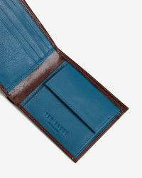 Ted Baker | Brown Contrast Corner Wallet for Men | Lyst