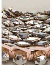Shourouk | Metallic 'River Comet' Necklace | Lyst