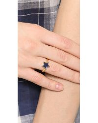 Marc By Marc Jacobs | Star Ring - Blue Mirror | Lyst