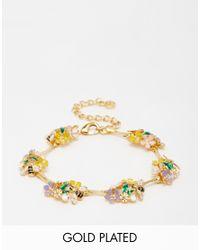 Bill Skinner | Multicolor Floral Bamboo Bracelet | Lyst