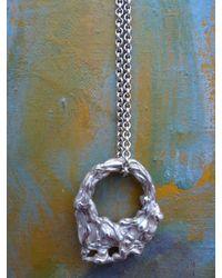 Lucky Little Blighters | Metallic Melt My Heart Necklace | Lyst
