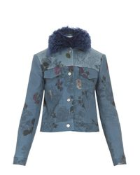 Preen By Thornton Bregazzi - Blue Fremont Jacket - Lyst