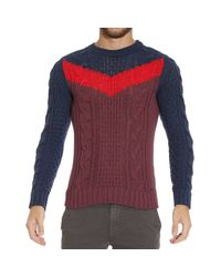 DIESEL | Blue Sweater for Men | Lyst