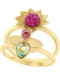 Swarovski | Metallic Bloom Ring | Lyst
