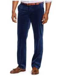 Polo Ralph Lauren | Blue Big & Tall Classic-fit Stretch-corduroy Pants for Men | Lyst