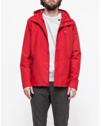 Obey - Red Sweeper Jacket for Men - Lyst