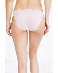 Urban Outfitters | White Joey Mesh String Bikini | Lyst