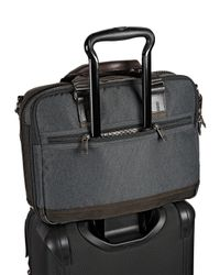 Tumi - Gray Alpha Bravo Anthracite Anderson Slim Computer Brief for Men - Lyst