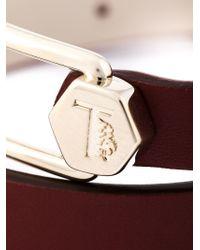 Tod's - Metallic Metal Pin Wrap Bracelet - Lyst