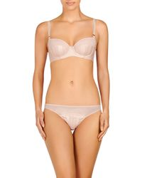 Stella McCartney - Orange Cherie Sneezing Contour Balconette Bra - Lyst