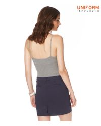 Aéropostale | Blue Pocketed Uniform Skirt | Lyst