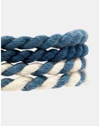 ASOS - Multicolor Rope Bracelet Pack for Men - Lyst