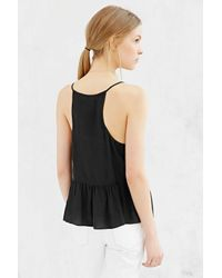 Silence + Noise | Black Isabelle Cami | Lyst
