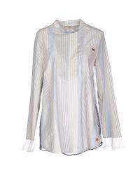 Replay - Blue Shirt - Lyst