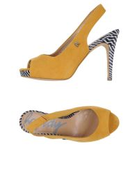 Replay - Yellow Sandals - Lyst