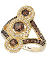 Le Vian | Metallic Chocolatier® Chocolate Deco Estate™ Gold Diamond (1-1/4 Ct. T.w.) Ring In 14k Gold | Lyst