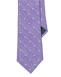 Lauren by Ralph Lauren | Purple Polka-Dot Silk-Linen Tie for Men | Lyst