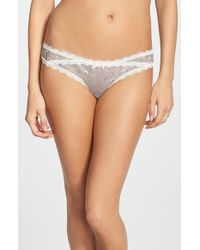Honeydew Intimates | Gray 'ashley' Thong | Lyst