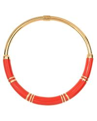 Aurelie Bidermann | Red 'positano' Necklace | Lyst