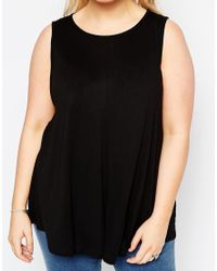 ASOS - Black Girly Swing Top 2 Pack Save 10% - Lyst