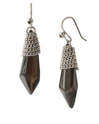 Kenneth Cole - Metallic Chain-Wrapped Drop Earrings - Lyst