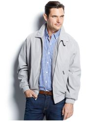 Weatherproof | Gray Lightweight Bomber Jacket for Men | Lyst