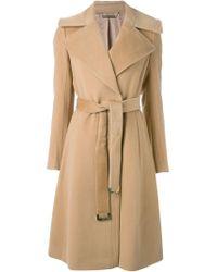Diane von Furstenberg - Natural 'jeannie' Coat - Lyst