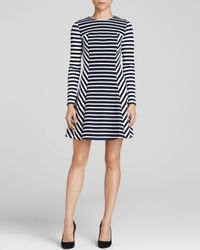 MICHAEL Michael Kors - Blue Lobamba Stripe Dress - Lyst