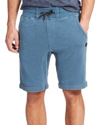 Madison Supply | Blue French Terry Sweat Shorts for Men | Lyst