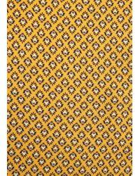 Violeta by Mango | Yellow Flowy Printed Blouse | Lyst