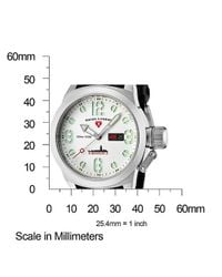 Swiss Legend - Submersible Black Silicone White Dial for Men - Lyst