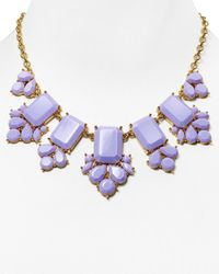 Kate Spade | Purple Daylight Jewels Necklace, 17"