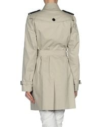 Burberry - Natural Full-Length Jacket - Lyst