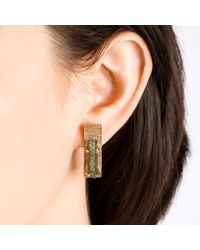 Kelly Wearstler | Metallic Tephra Stud | Lyst
