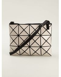 3a756f6a76 Bao Bao Issey Miyake Prism Basic Cross Body Bag in White - Lyst