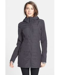 Bench - Gray 'Shenanigan B' Water Resistant Hooded Jacket - Lyst