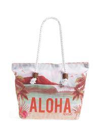 Rip Curl - Gray 'aloha Spirit' Beach Bag - Lyst