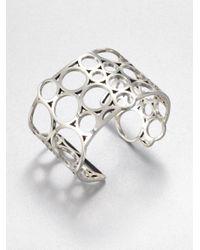 Georg Jensen | Metallic Sterling Silver Cuff Bracelet | Lyst