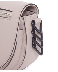 Rebecca Minkoff | Gray Mini Astor Saddle Bag | Lyst